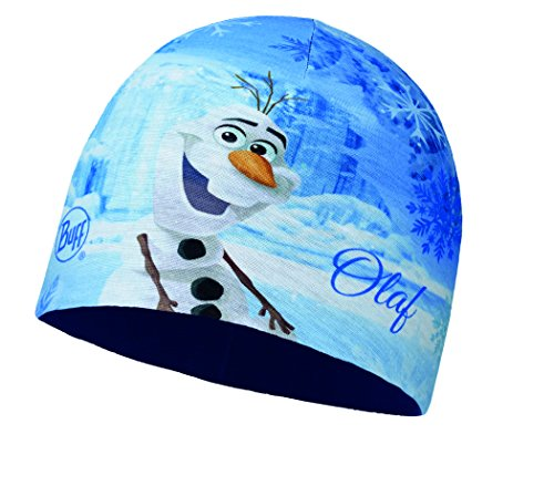 Buff Kinder Microfiber und Polar Hat Frozen Mütze, Olaf Blue, One Size