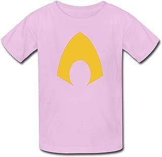 FEDNS Kid's Aquaman Logo T Shirt