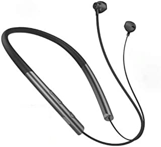 AAHDS Wireless Bluetooth Headset 5.0 Hanging Ear In-Ear Sports Running Headphones Magnetic Sweatproof Waterproof Subwoofer Universal Bluetooth 5.0 Continuous Listening Song 36 Hours (Color : Black)