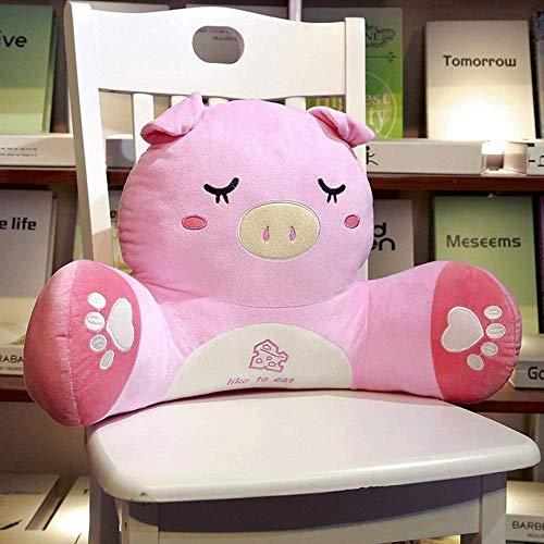FEPRII Almohada de lectura de algodón y lino – Cojín de espalda para silla – Funda suave y transpirable – Apoyo perfecto – La mejor almohada de lectura del año