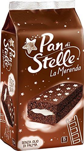 Pan di Stelle Trancini Crema al Latte Ideali per la Merenda - 8 merende - 280 g