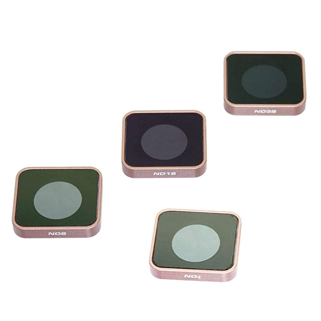 ETbotu for Gopro Hero 5 6 Black Camera ND4 ND8 ND16 ND32 Lens Filter Replacement Accessories ND4/ND8/ND16 t446762093786