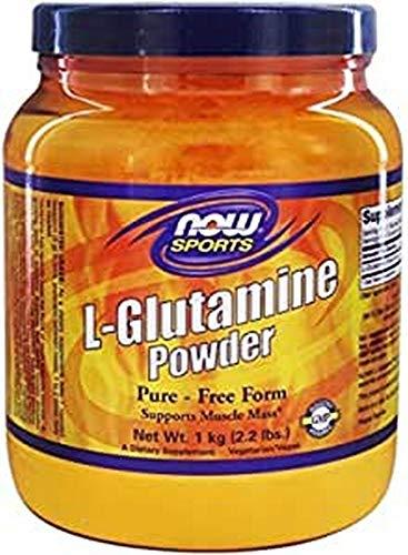 [海外直送品] ナウフーズ  - L-グルタミン粉末 100 Pure -  (1 kg) - 35.3