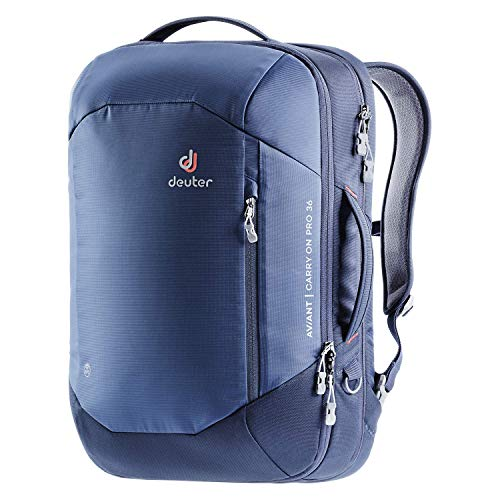 Deuter Aviant Carry On Pro 36 Travel Backpack, unisex_adult, Hiking Backpacks, 3510220, Midnight-Navy, 55 x 34 x 23 cm