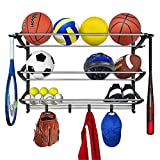 Lynk Sports Rack Organizer Gear Storage-Black