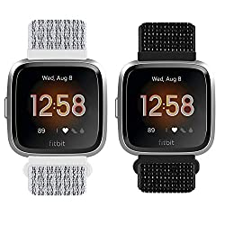 ?Compatible with Models?---Compatible with Fitbit Versa/ Versa 2/Versa Lite/Versa SE/ watches, the package NOT including watch. Fit for wrist 147mm- 206mm(5.75??-8??). It covering most wrist sizes of both men and women. ?Installation steps? --- 1.Ins...