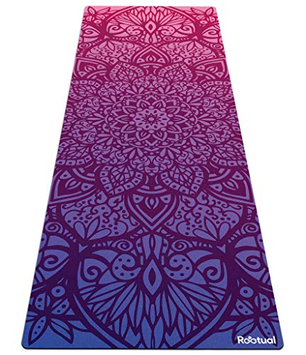 Reetual, Restorative Yoga Mat For Men, Premium 2in1 Hatha Yoga Mat Non Slip Combo Towel - With Carrying Strap, Eco...