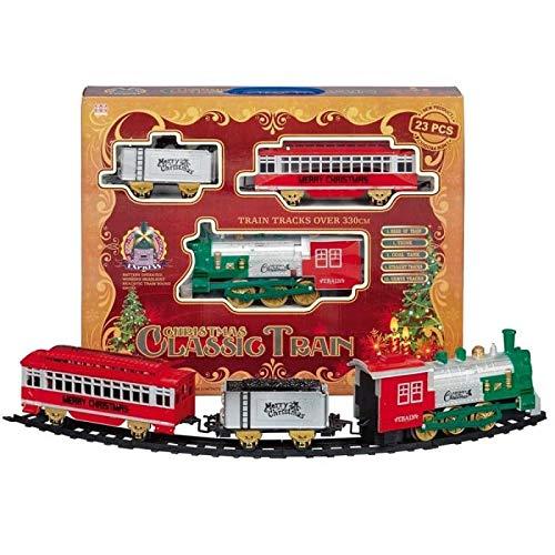 Premier Decs 23 Piece Classic Christmas Toy Train Set