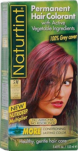 Naturtint Naturtint Coloration permanente naturelle (155 ml, 5 m (châtaigne en acajou clair)