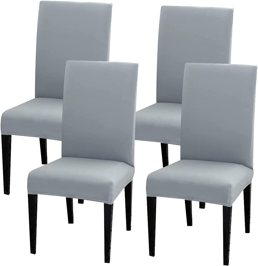 Dining Chair Excellence Slipcover LuSumtly 4 Reservation Cover Stretch High Pcs