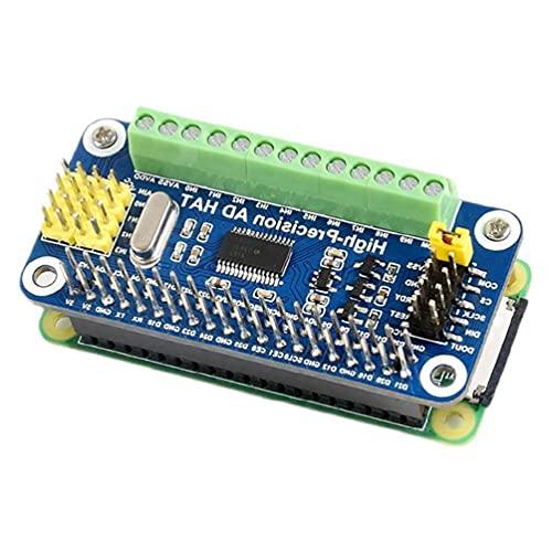 Module d'extension ADC AD analogique vers numérique haute précision 10 canaux pour Raspberry Pi Zero W 3 4 jets