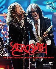 Image of Aerosmith 50th. Brand catalog list of Voyageur Press.