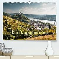 Rheinsteig Impressionen I (Premium, hochwertiger DIN A2 Wandkalender 2022, Kunstdruck in Hochglanz): Impressionen eines Wanderers entlang des Rheinsteig-Wanderwegs, im Unesco Welterbe - Oberes Mittelrheintal (Teil I) (Monatskalender, 14 Seiten )