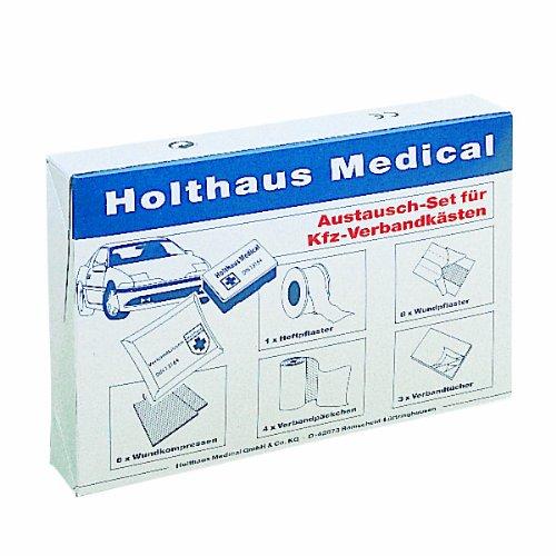 Holthaus 60 165 Austausch-Set fÃ1/4r Autoverbandkästen