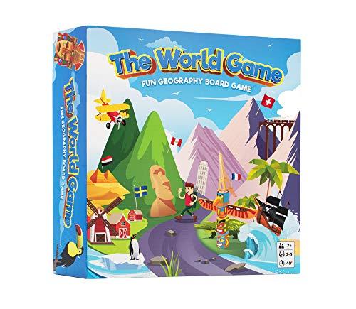 The World Game - Fun Geography Boar…