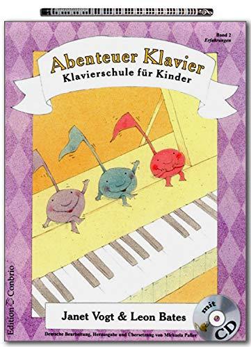 Abenteuer Klavier Band 2 - Klavierschule für Kinder von Janet Vogt mit Pianobleistift - ECB6076 9783909415274
