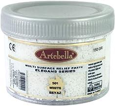 Artebella MSR501 Rölyef Pasta Elegans Serisi Beyaz