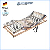 RAVENSBERGER MEDIMED® 44-Leisten 7-Zonen-BUCHE-Lattenrahmen | Elektrisch | Made IN Germany - 10...