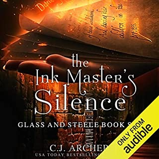 The Ink Master's Silence audiobook cover art