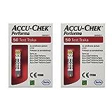 Roche Accu Chek Performa Nano Diabetic Glucose 100 Test Strips