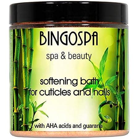 BINGOSPA spa & beauty Bagno mani e unghie, Rimuovi cuticole, Ammorbidente per cuticole, per cuticole e unghie, Manicure e Pedicure - 300 g
