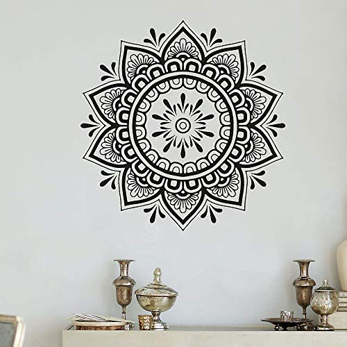 Mandala creativa vinilo pegatinas de pared niños arte mural yoga fondo vinilo pegatinas sala de estar decoración del hogar