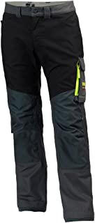 Helly Hansen Aker 979-C5277400 Pantalones de Trabajo, unisex, C52, Carbón/Negro