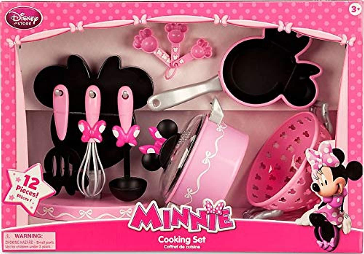 Disney Minnie Mouse Cooking Set Playset by Disney