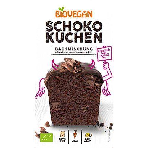 Biovegan Bio Kuchenbackmischung Schoko, BIO (1 x 380 gr)