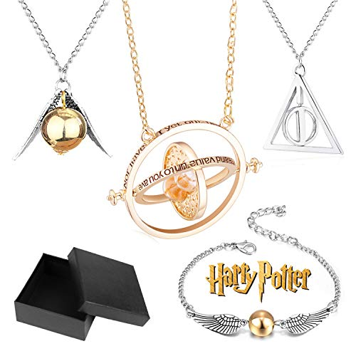 Bioworld Merchandising Independent Sales Harry Potter 3 Pack Choker Necklace Set Standard
