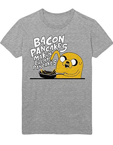 T-Shirt Bacon Pancakes Makin` Bacon Pancakes C112263 Grau L