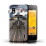 Stuff4 Hülle/Case für LG Nexus 4/E960 / Pavillon Theater Muster/Englische Strand Kollektion