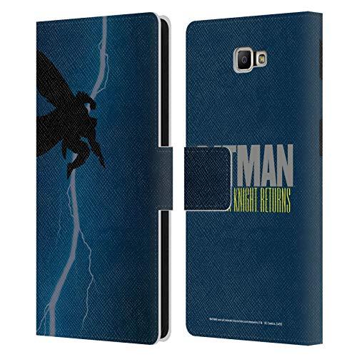 Head Case Designs Ufficiale Batman DC Comics The Dark Knight Returns Copertine di Libri Comici Famosi Cover in Pelle a Portafoglio Compatibile con Samsung Galaxy J7 Prime 2 2018