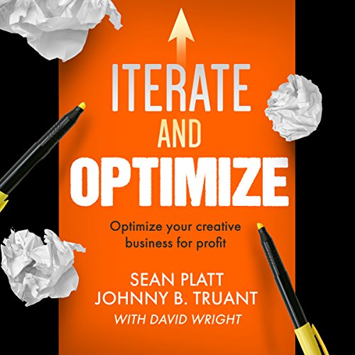 Iterate and Optimize audiobook cover art