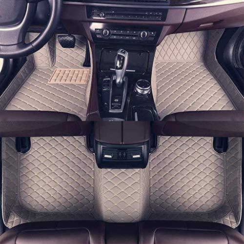 Personalizzato for auto piano stuoie for Audi TT 2008-2014 a 4 posti Anteriore Posteriore Pavimento Liner antiscivolo in pelle impermeabile Tappeti Set lcmaths