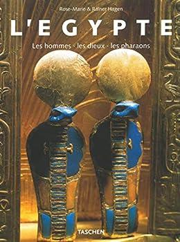 Paperback L'Egypte. Les hommes, les dieux, les pharaons [French] Book