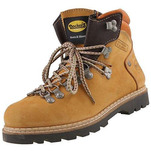 Dockers by Gerli Damen Bergsteiger Wanderstiefel, Schuhgröße:EUR 40, Farbe:Gelbtöne
