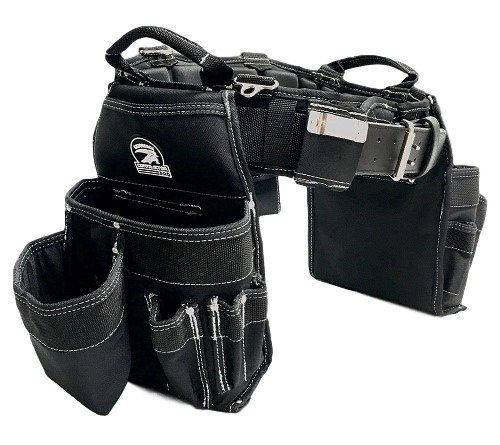 TradeGear MEDIUM 31-35' Carpenter's Combo Belt & Bag – Strong & Durable Carpenter Tool Belt Designed for Optimum Comfort – Sufficient Carry Space for All Your Carpenter Tools – Partnered w/GatorBack