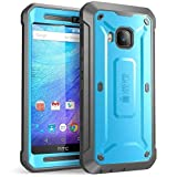 HTC One M9 Case, SUPCASE Full-Body Rugged Case with Built-in Screen Protector for HTC One M9 (2015 Release), Unicorn Beetle PRO Series - Retail Package (Blue/Black)