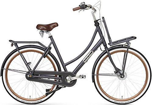28 Zoll Damen Holland Fahrrad 7 Gang Popal Daily Dutch Prestige 28030N7, Farbe:petrol-blau, Rahmengröße:50cm