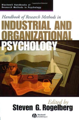 Handbook of Research Methods in Industrial and Organizational Psychology (Blackwell Handbooks of Res