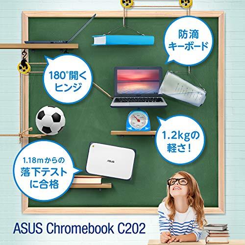 512qkqzR5UL-ASUSのChromebook「C403SA」と「C202SA」の正規代理店品がAmazonに登場。7月15日から発売