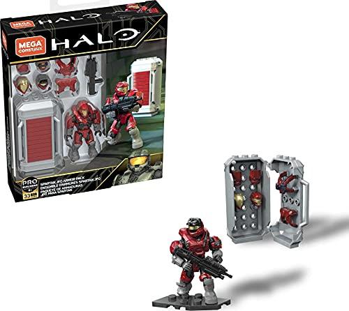 Mega Construx - Halo GLB66 - UNSC Spartan JFO Armor Pack red