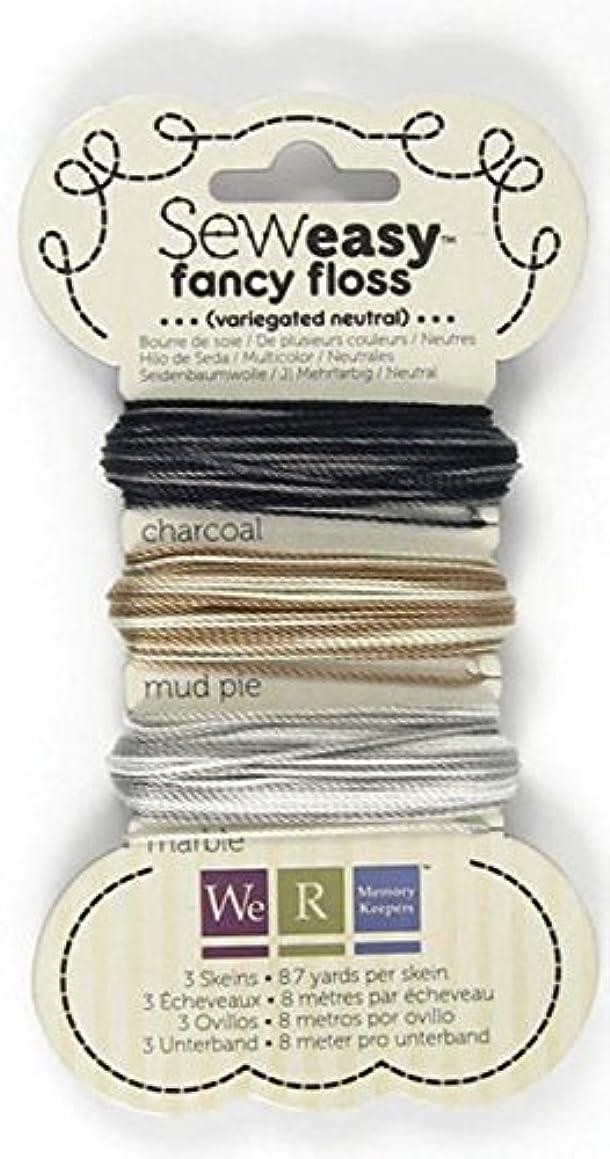 We R Memory Keepers Sew Easy Variegated Floss, Neutral