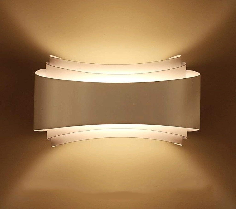 Oudan Lámpara de Hierro en la Parojo Salón La Cama en el Dormitorio Lámparas y Tubos en The Hotel Committed, Iluminación (Color  Know-25  13 cm). (Color   blanco-25  13cm)