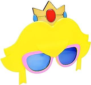 نظارات شمسية تنكرية من سوبر ماريو برينسيس بيتش صن ستاتشز هدايا للحفلات من الأشعة فوق البنفسجية ذات الطول الموجي 400