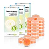 JB White 24 cápsulas desecantes para un secado confiable y óptimo de...