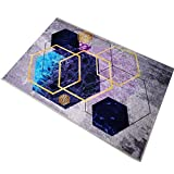 alfombra CAIXIA Hogar área del Dormitorio Sala De Estar Tacto Suave para Pasillo Cocina, Interior, Puerta Principal Alfombrillas Ancho 100 Cm, Tamaño 7(Color:CX-01,Size:140cm)