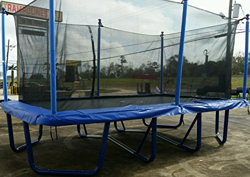 Airmaster 9'X16 Rectangle Trampoline and Enclosure Combo