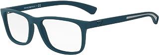 Emporio Armani EA3092 Eyeglasses 56-17-140 Matte Green 5538 EA 3092